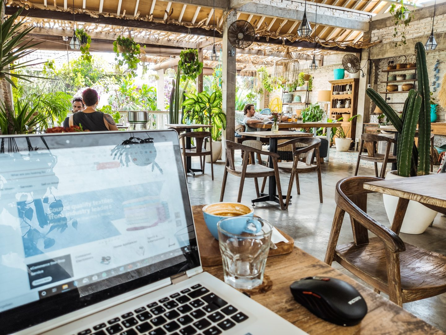 Best cafes to work from in Canggu, Bali